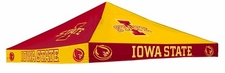 Iowa State Cyclones Red / Yellow Checkerboard Logo Tent Replacement Canopy