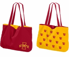 Iowa State Cyclones Reversible Tote Bag