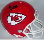 Kansas City Chiefs Autographed Football Gear