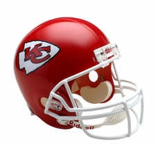 Kansas City Chiefs Full-Size Deluxe Replica Helmet
