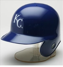 Kansas City Royals Riddell Mini Baseball Batting Helmet