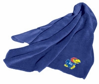 Kansas Jayhawks Fleece Throw