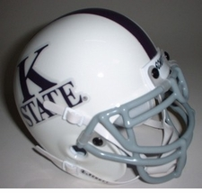 Kansas State Wildcats 1966 Schutt Throwback Mini Helmet