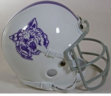 Kansas State Wildcats 1974 Schutt Throwback Mini Helmet