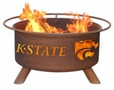 Kansas State Wildcats Outdoor Fire Pit
