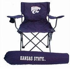 Kansas State Wildcats Rivalry Adult Chair