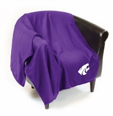 Kansas State Wildcats Sweatshirt Throw Blanket