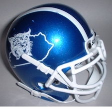 Kentucky Wildcats 2004 Schutt Throwback Mini Helmet