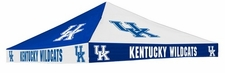 Kentucky Wildcats Blue / White Checkerboard Logo Tent Replacement Canopy