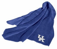 Kentucky Wildcats Fleece Throw