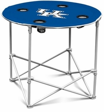 Kentucky Wildcats Round Tailgate Table