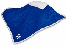 Kentucky Wildcats Sherpa Blanket