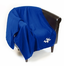 Kentucky Wildcats Sweatshirt Throw Blanket