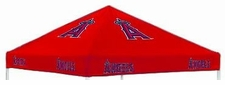 Los Angeles Angels Red Logo Tailgate Tent Replacement Canopy Top