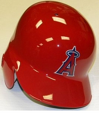 Los Angeles Angels Right Flap Rawlings Authentic Batting Helmet