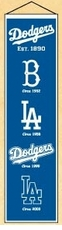 Los Angeles Dodgers 8x32 Heritage Banner