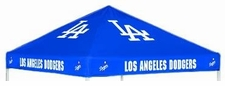 Los Angeles Dodgers Blue Logo Tailgate Tent Replacement Canopy Top