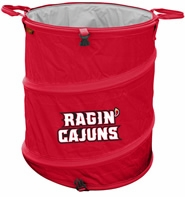 Louisiana Lafayette Ragin' Cajuns Tailgate Trash Can / Cooler / Laundry Hamper