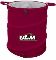 Louisiana Monroe Warhawks Tailgate Trash Can / Cooler / Laundry Hamper