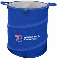 Louisiana Tech Bulldogs Tailgate Trash Can / Cooler / Laundry Hamper