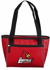 Louisville Cardinals 16 Can Cooler Tote