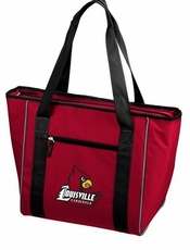 Louisville Cardinals 30 Can Cooler Tote