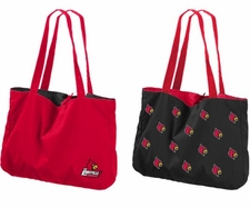 Louisville Cardinals Reversible Tote Bag