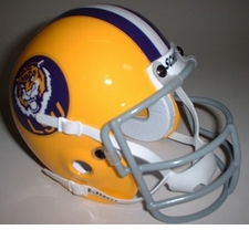 LSU Tigers 1975 Schutt Throwback Mini Helmet