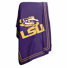 LSU Tigers Classic Fleece Blanket