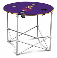 LSU Tigers Coke Zero Round Tailgate Table