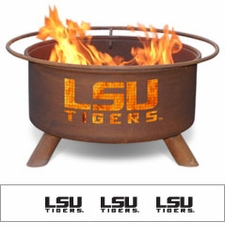 LSU Tigers Outdoor Fire Pit