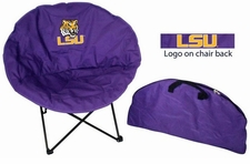 LSU Tigers Round Sphere Chair