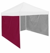 Maroon Tent Side Panel for Logo Canopy Tailgate Tents