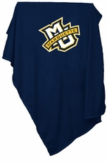 Marquette Golden Eagles Sweatshirt Blanket