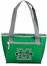 Marshall Thundering Herd 16 Can Cooler Tote