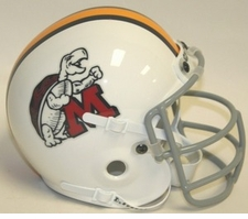 Maryland Terrapins 1970 Schutt Throwback Mini Helmet
