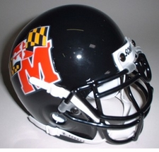 Maryland Terrapins 1997 Schutt Throwback Mini Helmet