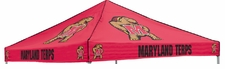 Maryland Terrapins Red Logo Tent Replacement Canopy