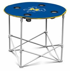 McNeese State Cowboys Round Tailgate Table