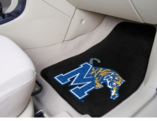 Memphis Tigers 2-Piece Carpeted Car Mats Front Set