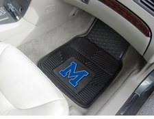 Memphis Tigers 2-Piece Heavy Duty Vinyl Car Mat Set