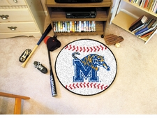 "Memphis Tigers 27"" Baseball Floor Mat"