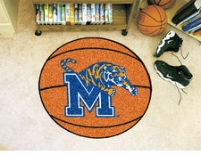 "Memphis Tigers 27"" Basketball Floor Mat"