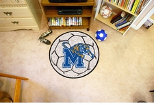 "Memphis Tigers 27"" Soccer Ball Floor Mat"