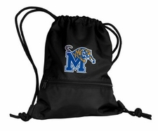 Memphis Tigers Black String Pack / Backpack