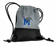 Memphis Tigers Gray String Pack / Backpack