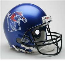 Memphis Tigers Riddell Pro Line Authentic Helmet