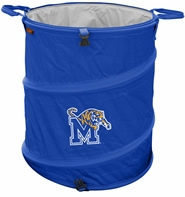 Memphis Tigers Tailgate Trash Can / Cooler / Laundry Hamper