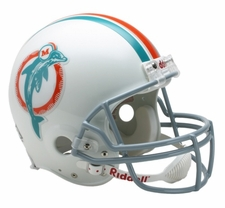 Miami Dolphins 1973-79 Throwback Riddell Deluxe Replica Helmet