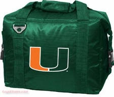 Miami Hurricanes 12 Pack Small Cooler